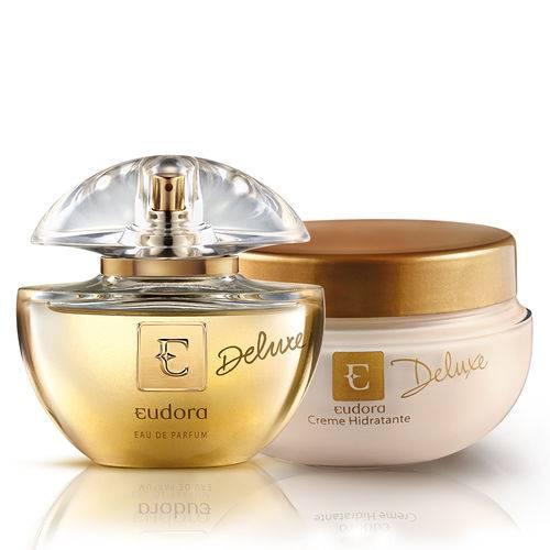 Kit Deluxe Eudora: Eau de Parfum + Creme Hidratante