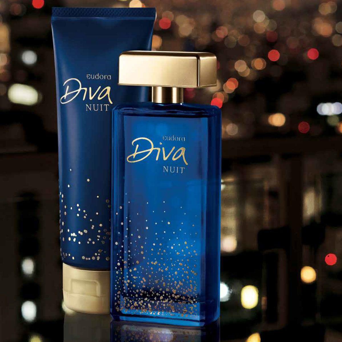 Kit Diva Nuit Eudora - Deo Colonia + Hidratante
