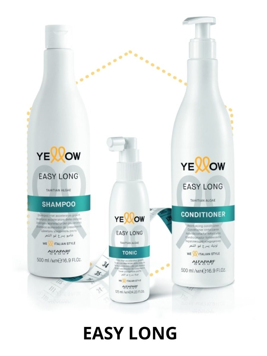 Kit Easy Long Yellow (3 produtos)