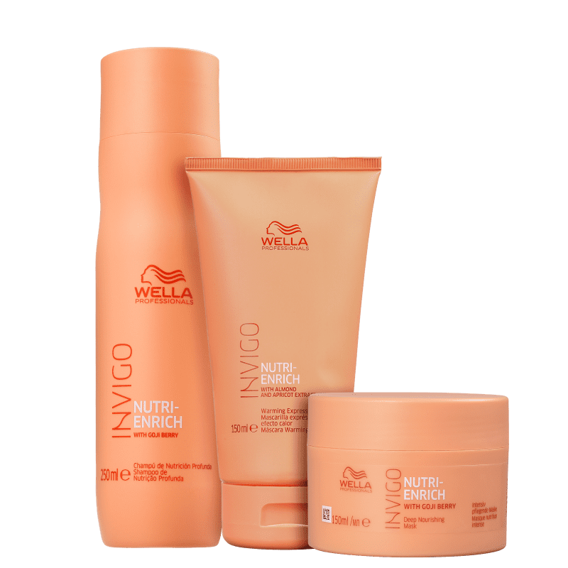 Kit Express Invigo Nutri-Enrich Wella Professionals Trio (3 Produtos)