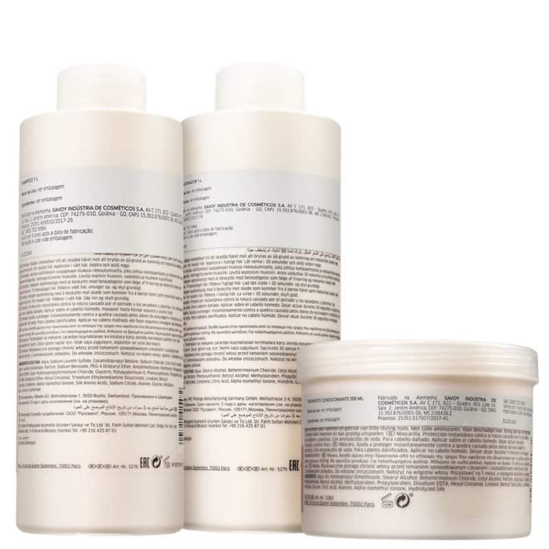 Kit Fusion Salon Trio Wella Professionals (3 Produtos)  - Shine Shop Perfumes e Cosméticos
