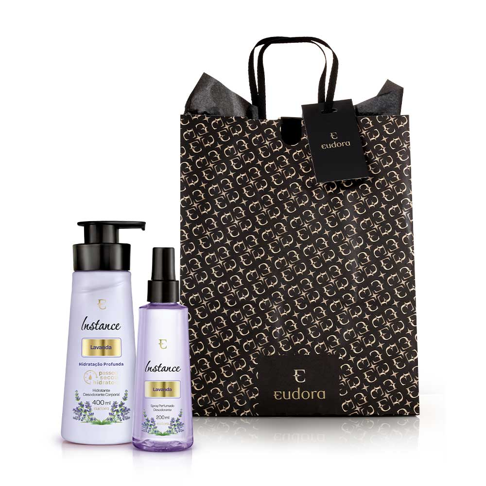 Kit Instance Lavanda Mãos Eudora  - Shine Shop Perfumes e Cosméticos