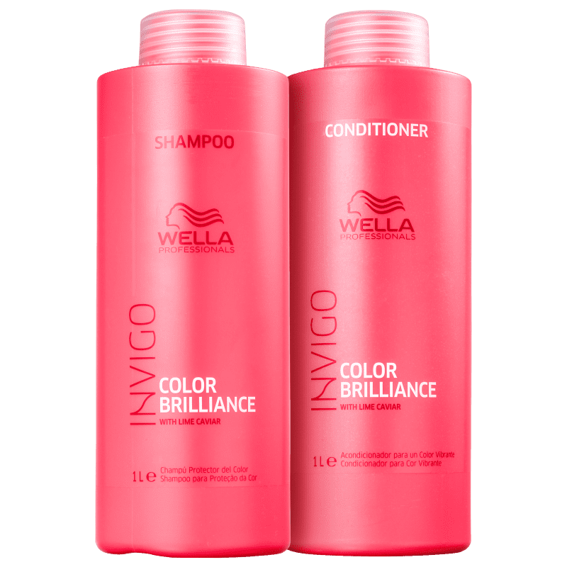 Kit Invigo Color Brilliance Wella Professionals litro (2 Produtos)