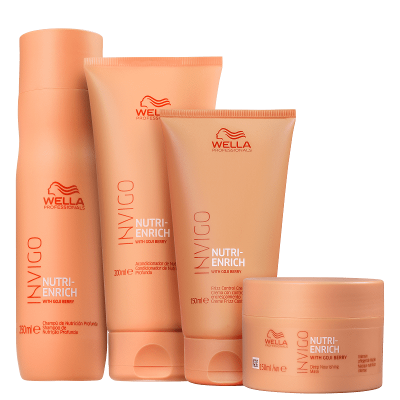 Kit Invigo Nutri-Enrich Full Wella Professionals (4 Produtos)