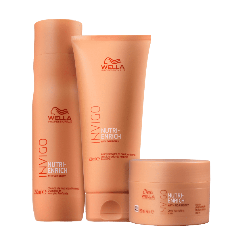 Kit Invigo Nutri-Enrich Wella Professionals Trio (3 Produtos)