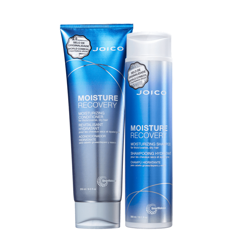 Kit Joico Moisture Recovery Smart Release Duo (2 Produtos): Shampoo + Condicionador