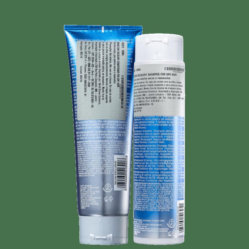 Kit Joico Moisture Recovery Smart Release Duo (2 Produtos): Shampoo + Condicionador  - Shine Shop Perfumes e Cosméticos
