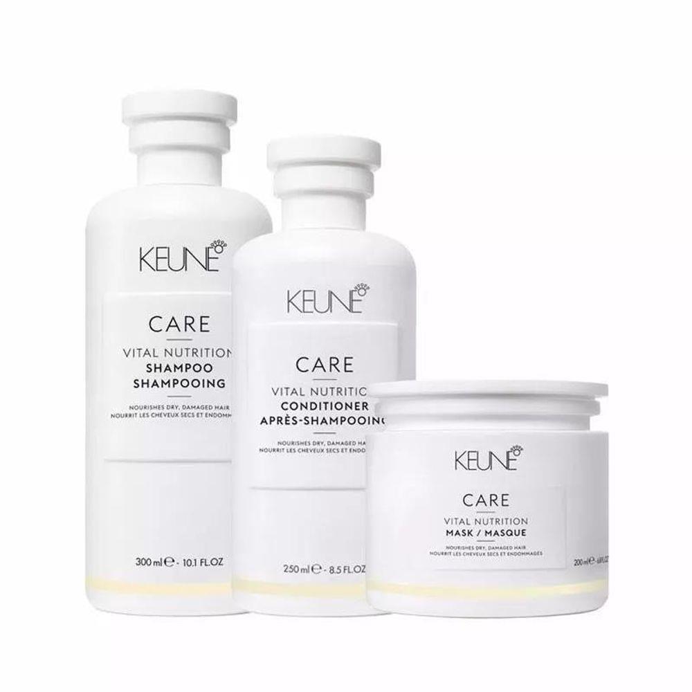 Kit Keune Care Vital Nutrition (3 produtos)