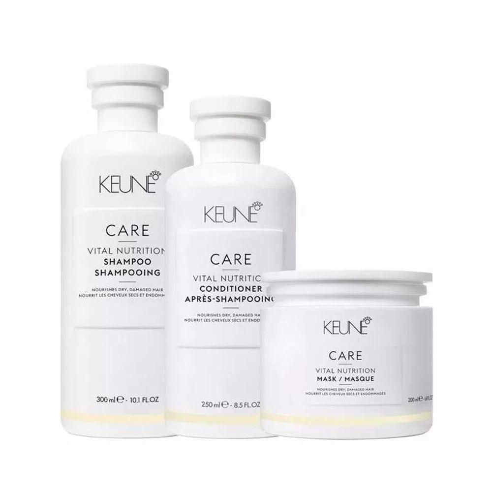 Kit Keune Care Vital Nutrition (3 produtos)