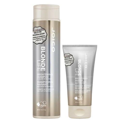Kit Máscara + Shampoo Blonde Life Brightening Joico