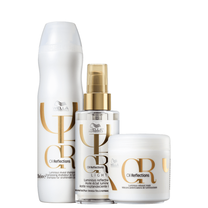 Kit Oil Reflexion Light Wella Professionals (3 Produtos)