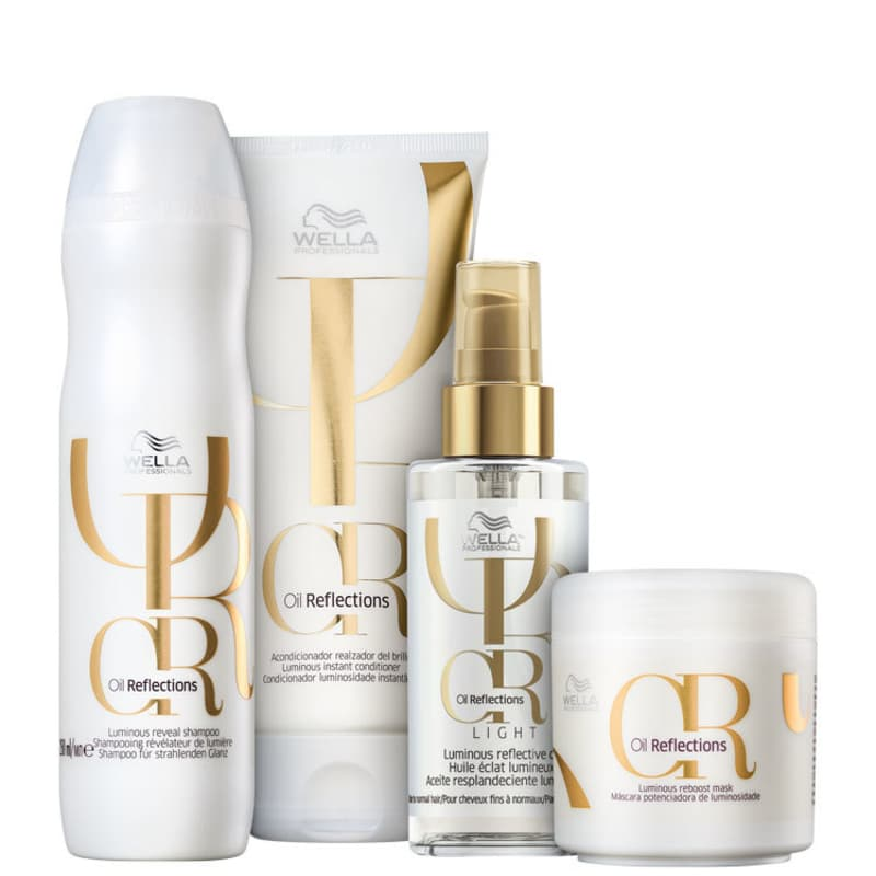 Kit Oil Reflexion Light Wella Professionals (4 Produtos)