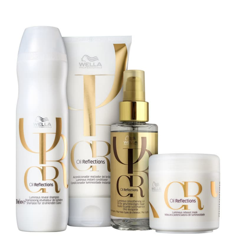 Kit Oil Reflexion Luminous Wella Professionals (4 Produtos)  - Shine Shop Perfumes e Cosméticos