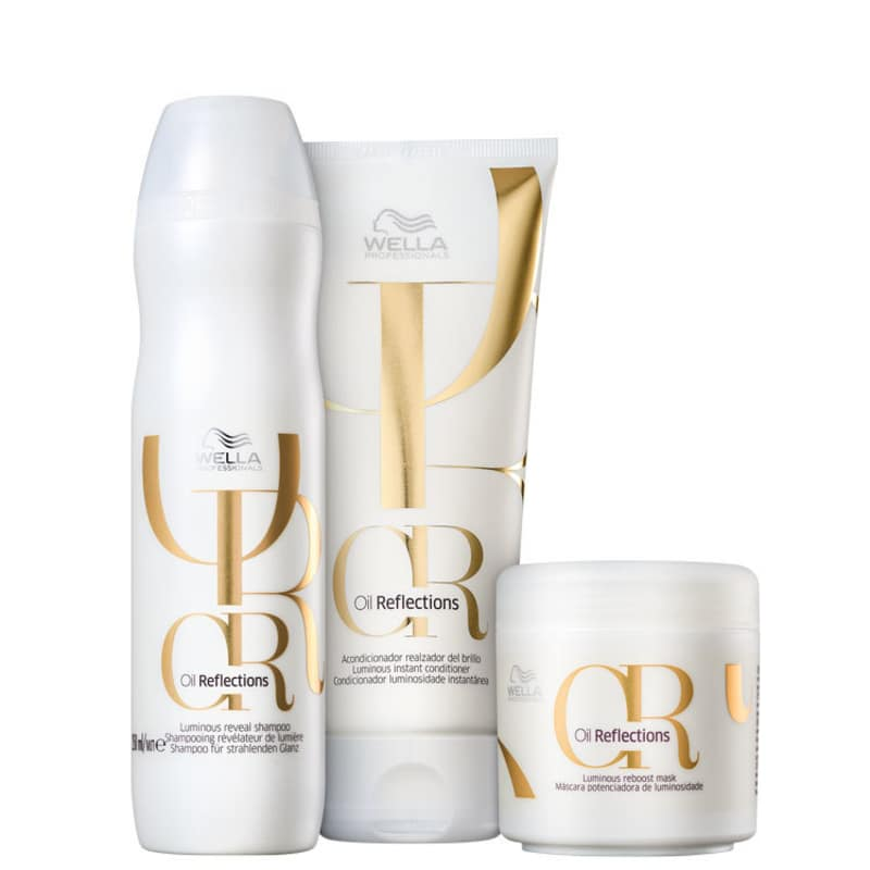 Kit Oil Reflexion Trio Wella Professionals (3 Produtos)