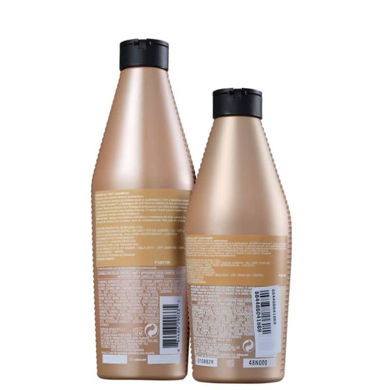 Kit Redken All Soft Shampoo 300ml + Condicionador 250ml  - Shine Shop Perfumes e Cosméticos