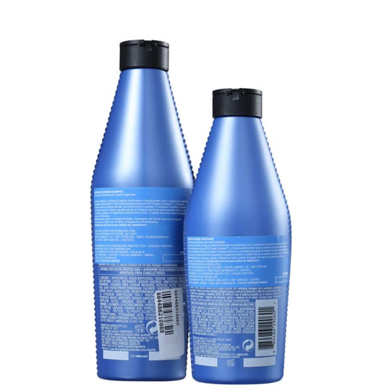 Kit Redken Extreme Shampoo 300ml + Condicionador 250ml  - Shine Shop Perfumes e Cosméticos