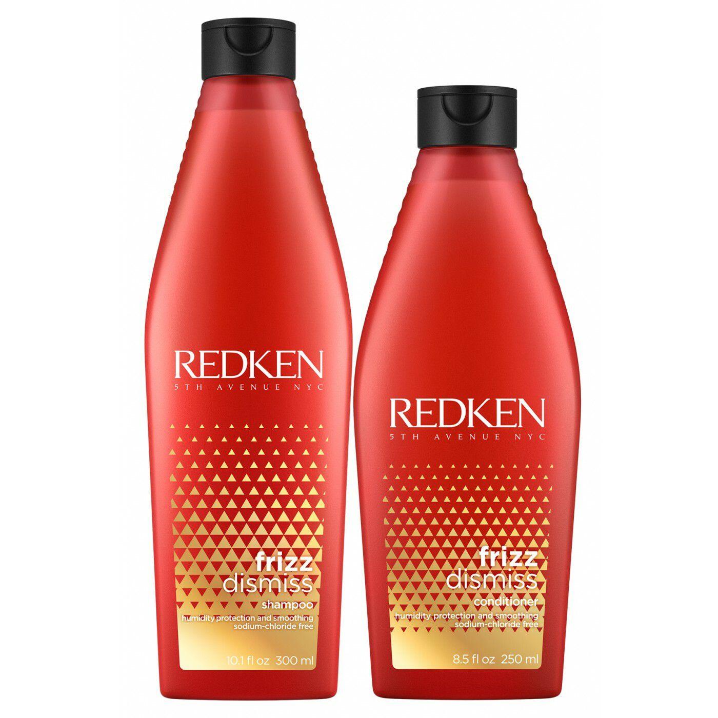 Kit Redken Frizz Dismiss: Shampoo 300ml + Condicionador 250ml