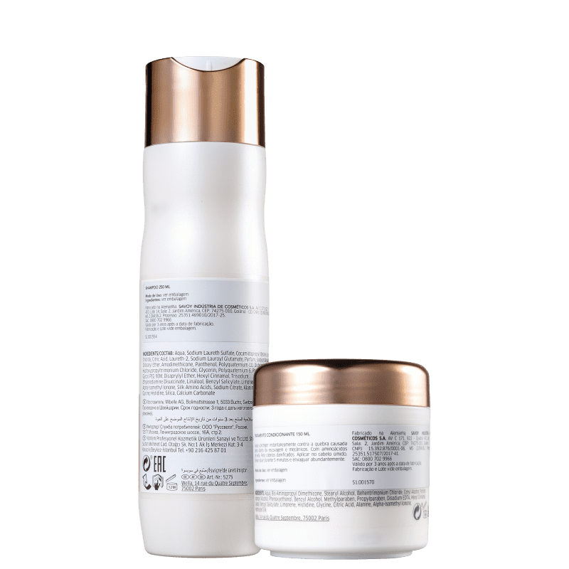Kit Shampoo 250ml + Máscara 150ml Fusion Wella Professionals  - Shine Shop Perfumes e Cosméticos