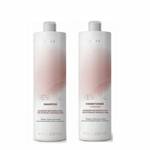 Kit Shampoo + Condicionador Braé Revival litro