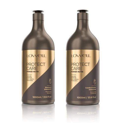 Kit Shampoo + Condicionador Protect Care Power Nutri 1000ml
