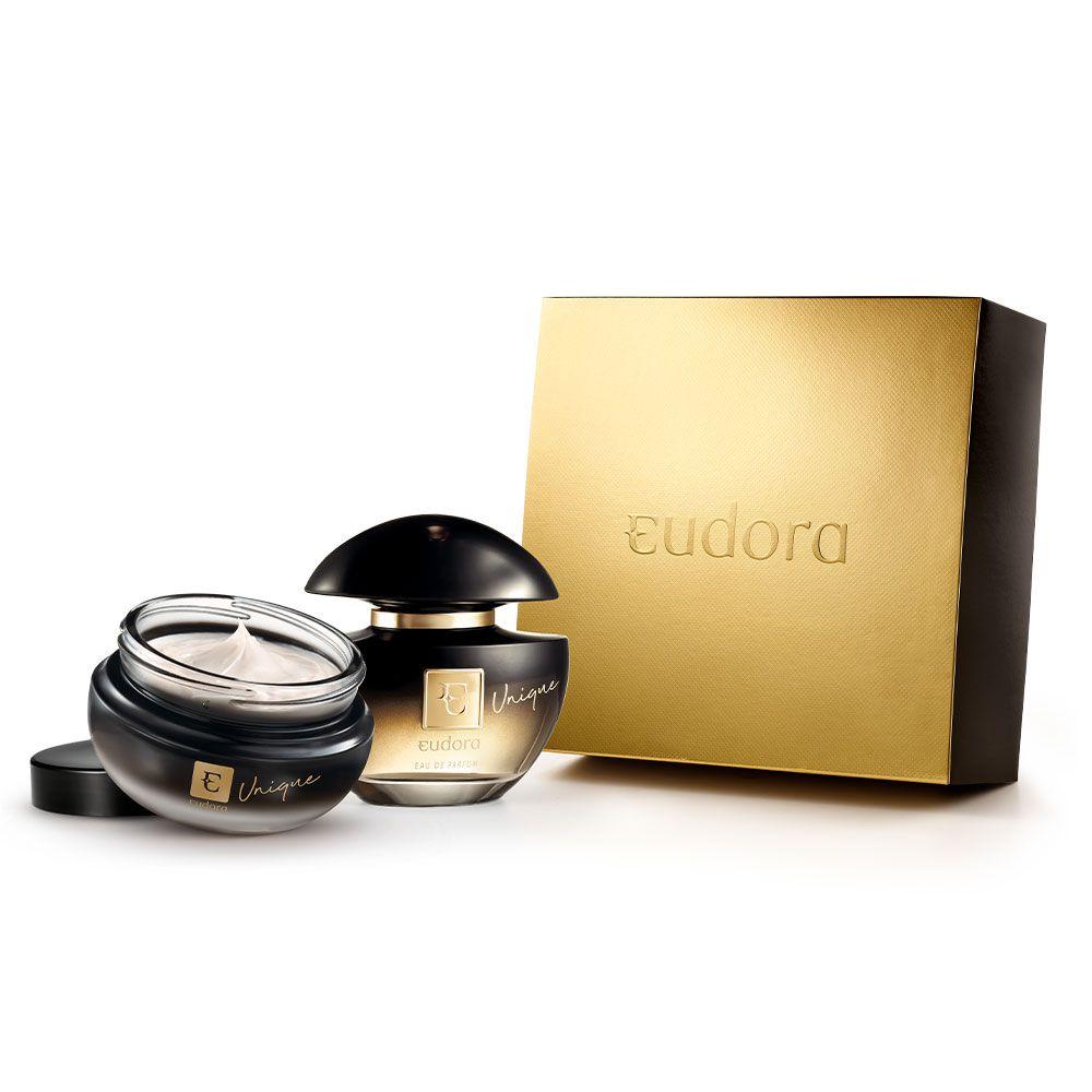 Kit Unique Eua de Parfum + Creme Hidratante Corporal Eudora