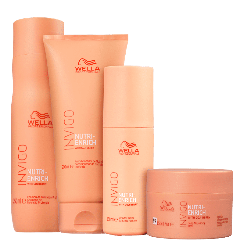 Kit Wonder Balm Invigo Nutri-Enrich Wella Professionals (4 Produtos)