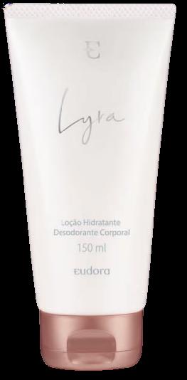 Lyra Loção Desodorante Hidratante Corporal Eudora 150ml