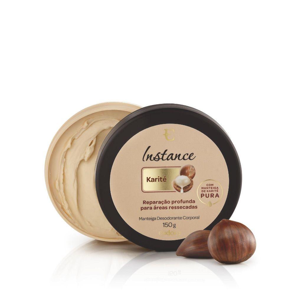 Manteiga Desodorante Corporal Karité Instance Eudora 150ml
