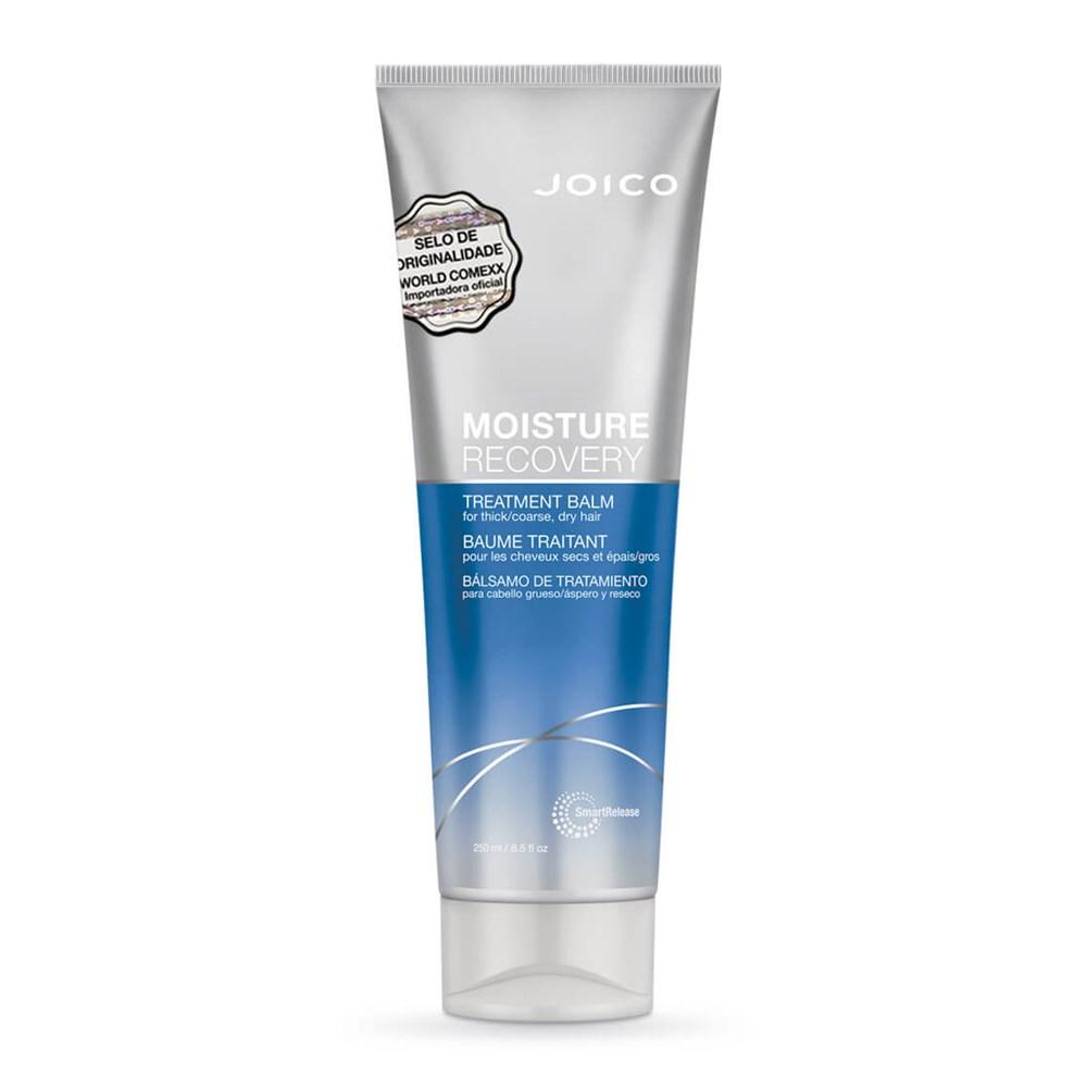 Máscara Azul Moisture Recovery Smart Release Treatment Balm 250ml Joico