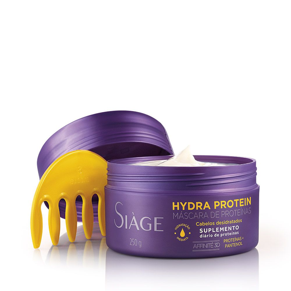 Máscara Capilar Hydra Protein Siàge 250g Eudora