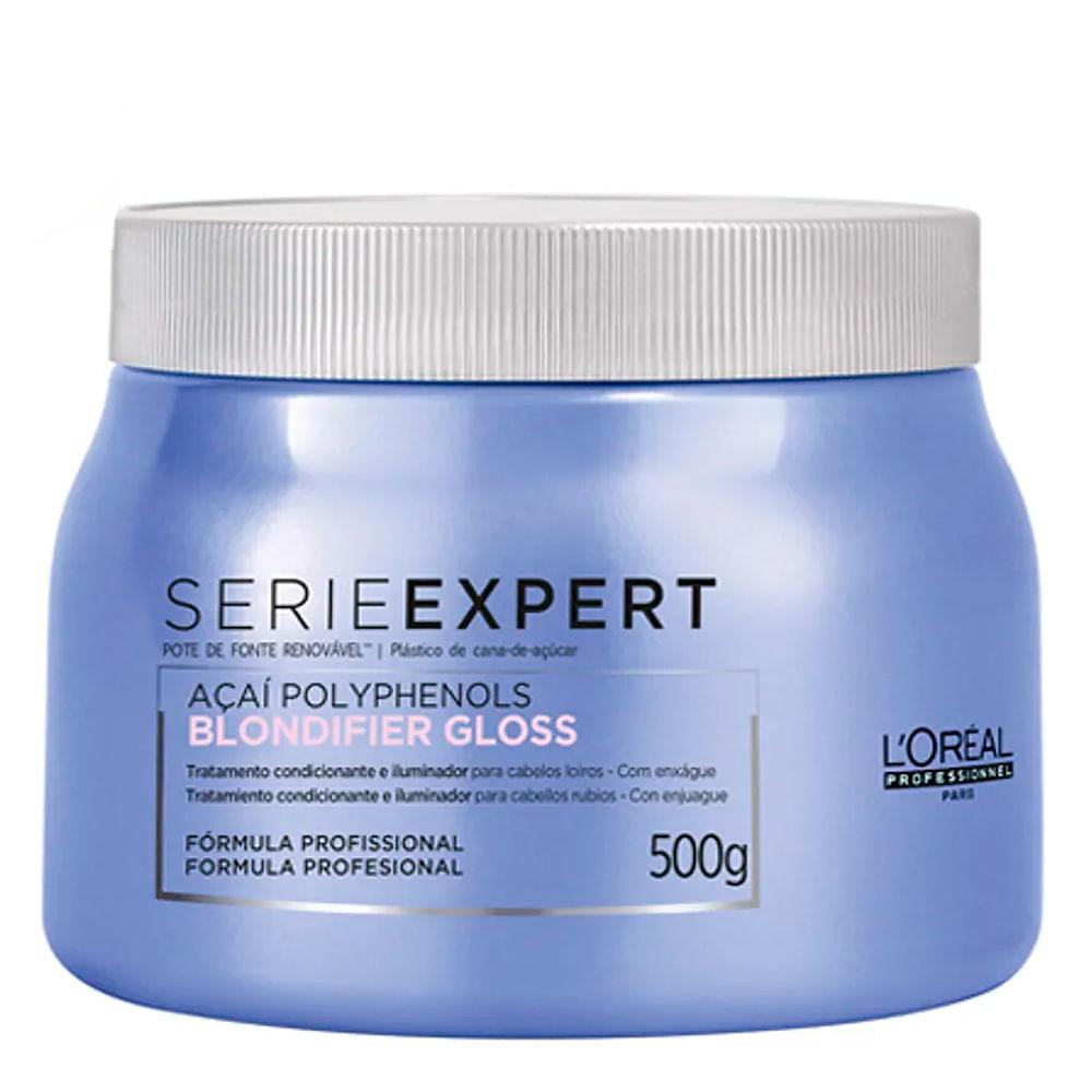 Máscara Capilar Serie Expert Blondifier Gloss L'Oréal Professionnel 500ml