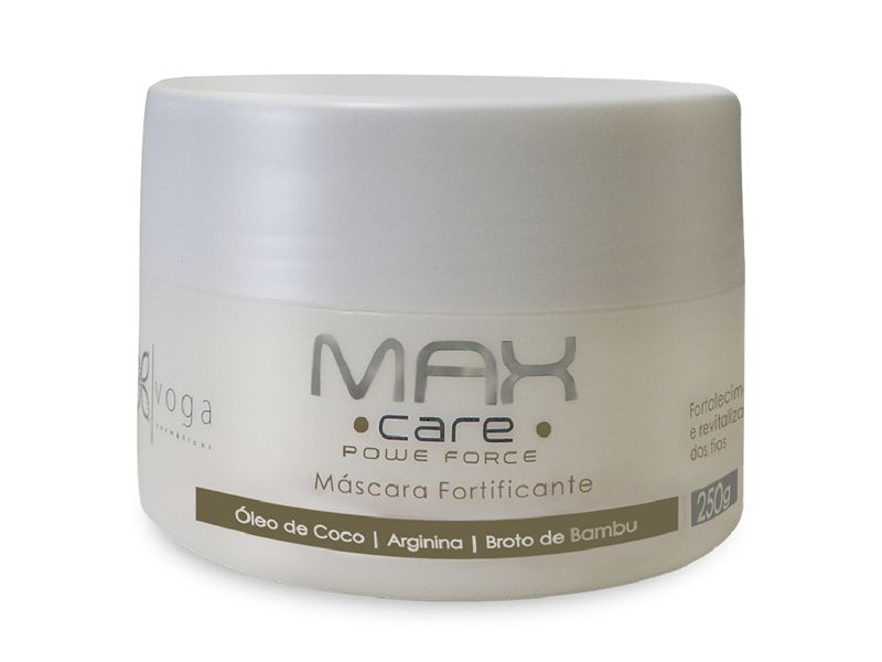 Máscara Fortificante Max Care Power Force Voga Cosméticos 250g