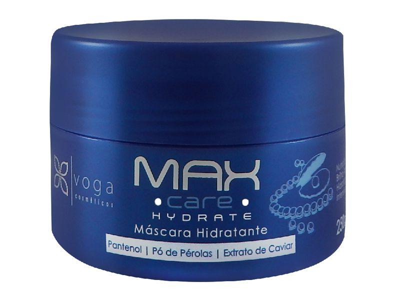 Máscara Hidratante Max Care Hydrate Voga Cosméticos 250g