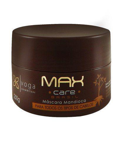 Máscara Mandioca Max Care Brasil Voga Cosméticos 300ml