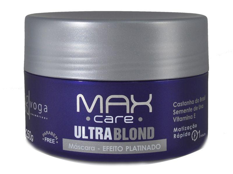 Máscara Matizadora Ultrablond Voga Cosméticos 250g