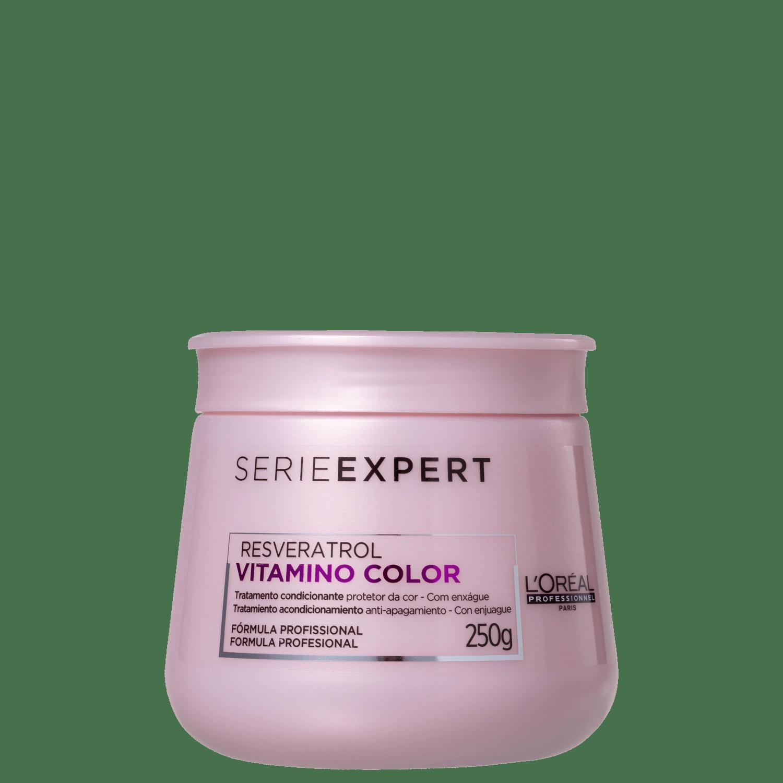Máscara Serie Expert Resveratrol Vitamino Color L'Oréal Professionnel 250ml