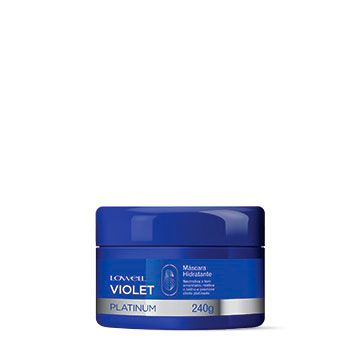 Máscara Violet Platinum 240g
