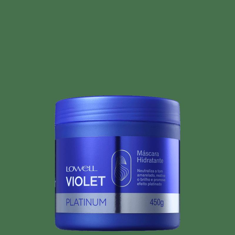 Máscara Violet Platinum 450g