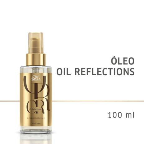 Óleo Capilar Oil Reflections Reflective Wella Professionals 100ml  - Shine Shop Perfumes e Cosméticos