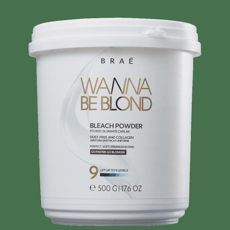 Pó Descolorante Wanna Be Blond Braé 500g