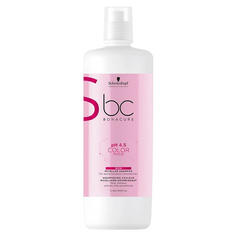 Schwarzkopf BC Bonacure Micellar pH 4.5 Color Freeze Rich - Shampoo 1000ml