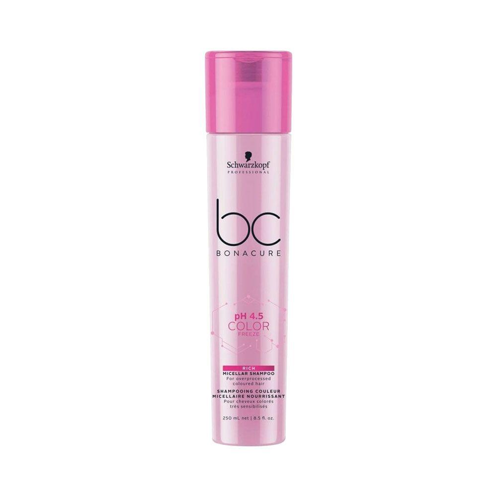 Schwarzkopf BC Bonacure Micellar pH 4.5 Color Freeze Rich - Shampoo 250ml