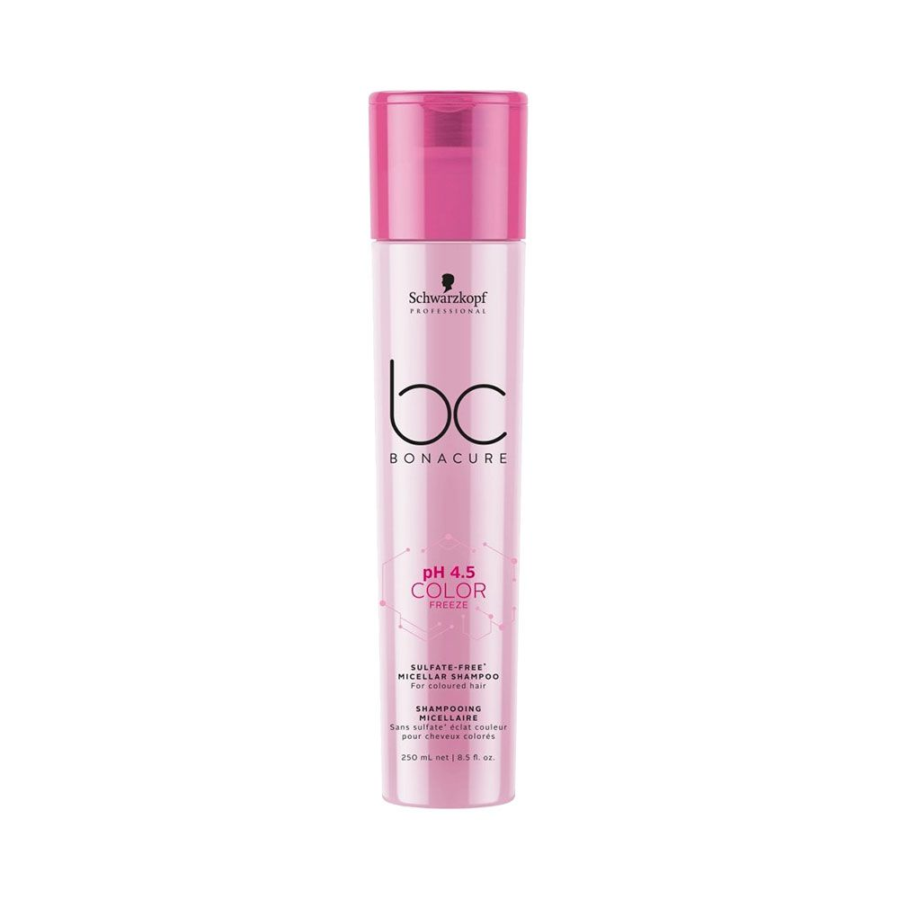 Schwarzkopf BC Bonacure Micellar pH 4.5 Color Freeze Sem Sulfato - Shampoo 250ml
