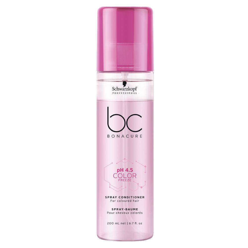 Schwarzkopf BC Bonacure pH 4.5 Color Freeze Spray Condicionador - Leave-In 200ml