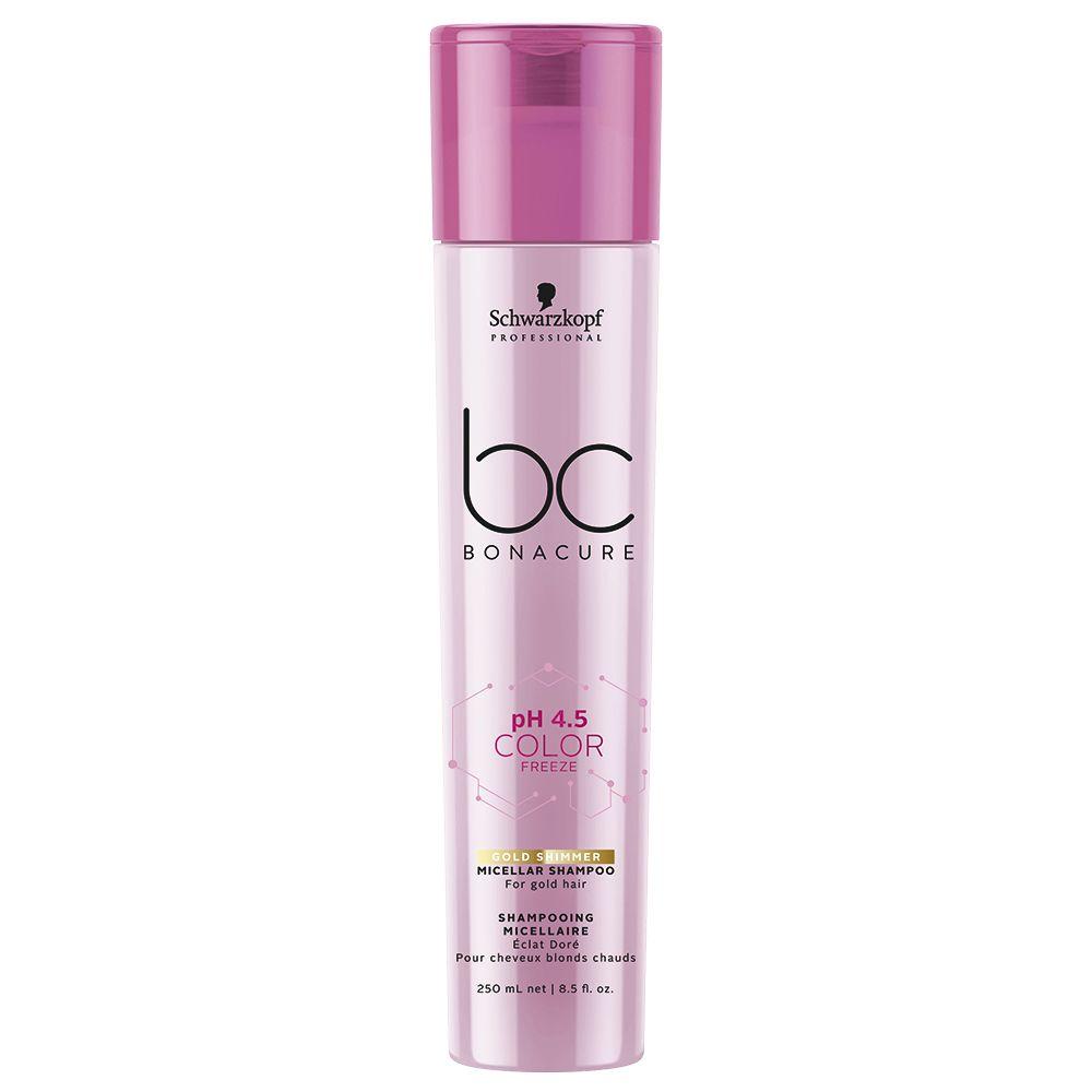 Schwarzkopf Bc Color Freeze Gold Shimmer - Shampoo 250ml