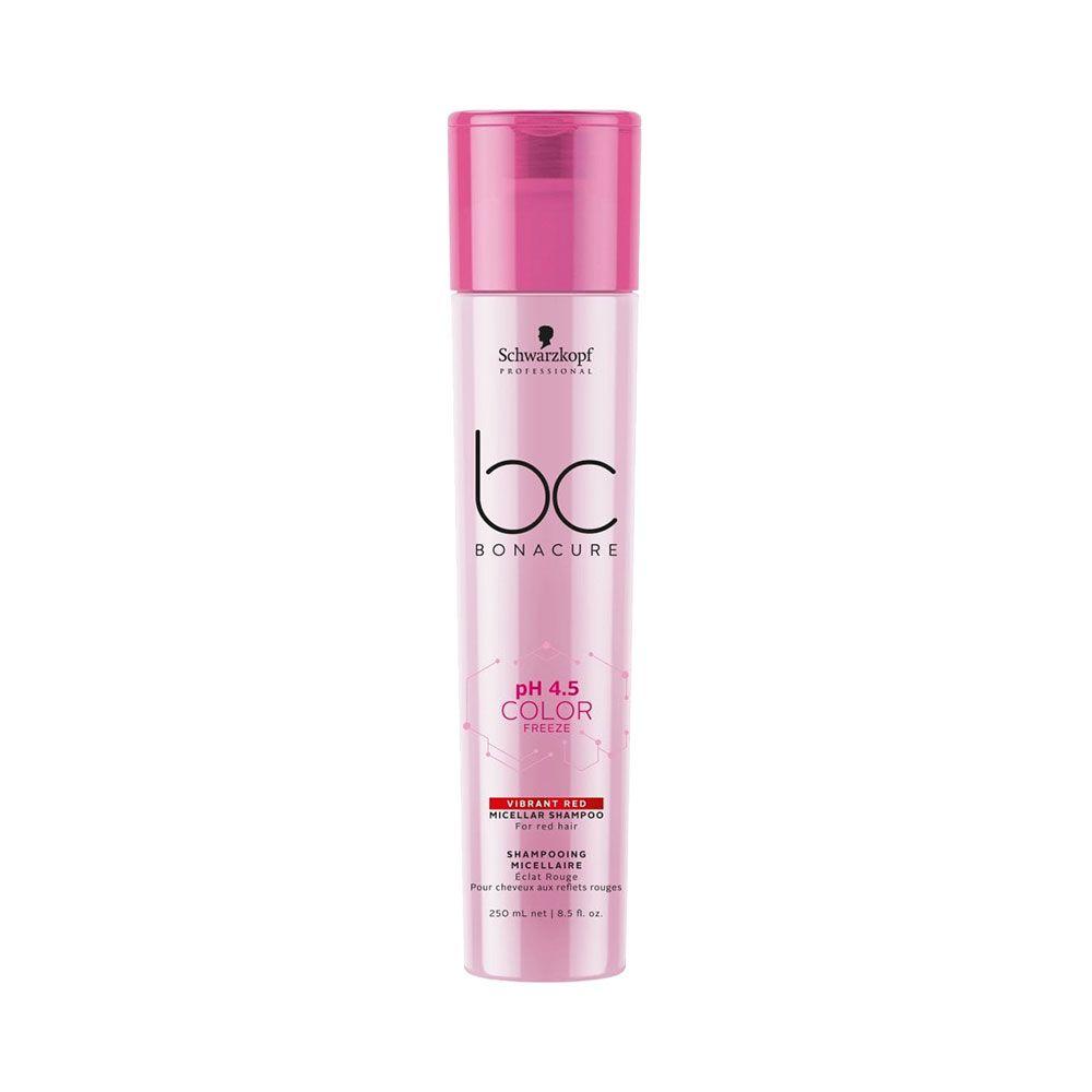 Schwarzkopf BC pH 4.5 Color Freeze Shampoo Red 250ml