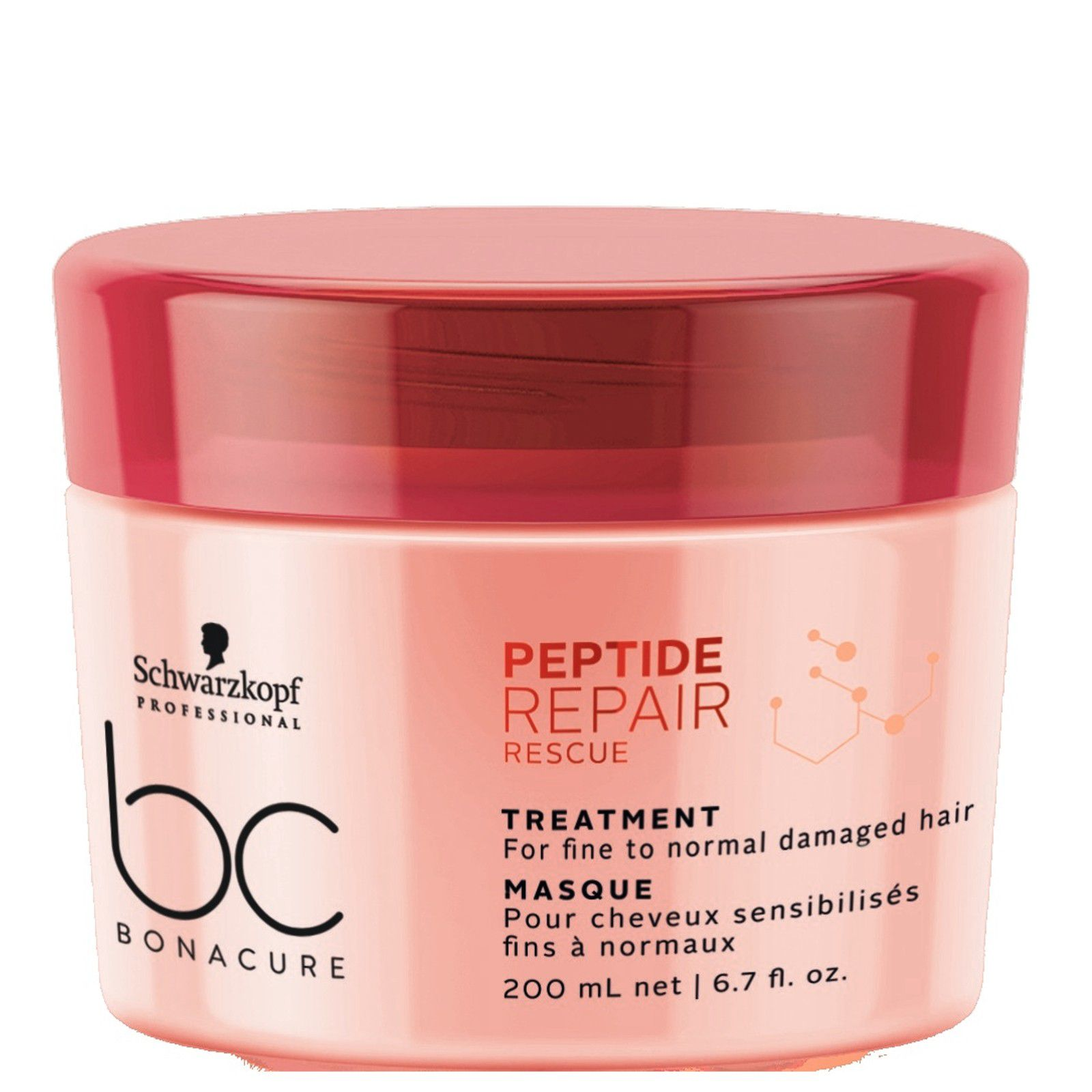 Schwarzkopf BC Repair Rescue Máscara 200ml