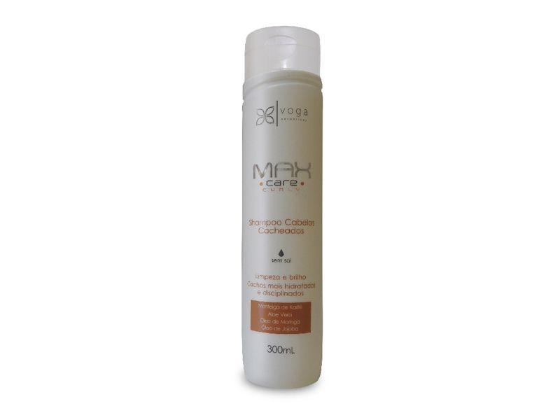 Shampoo Cabelos Cacheados Max Care Curly 300ml