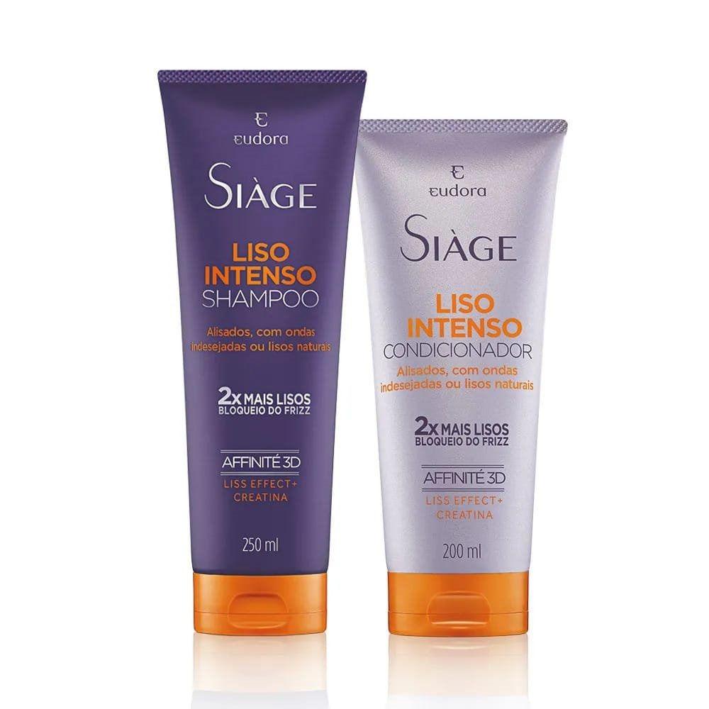 Shampoo + Condicionador Siàge Liso Intenso Eudora