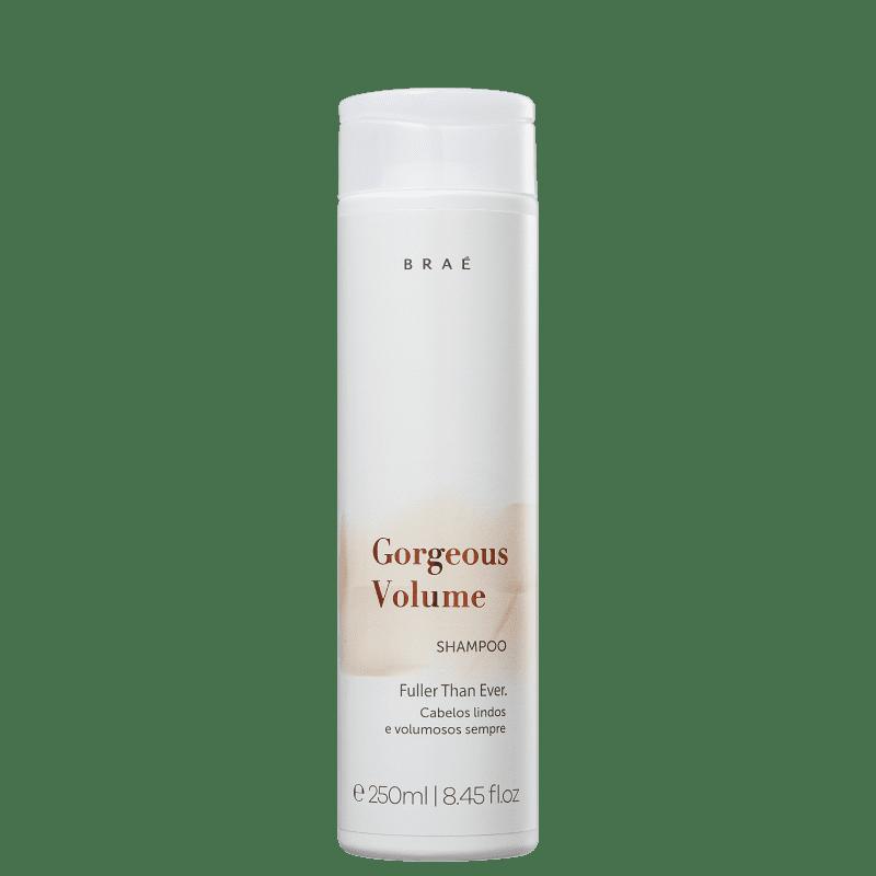Shampoo Gorgeous Volume Braé 250ml